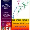 Atletas del club y de la escuela Meliz Sport en el VII Cross Popular de Ajalvir