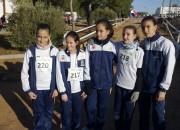 Campeonato Regional Infantil Femenino de Cross. Quintanar de la Orden . 02 /02/ 2014