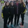 El equipo femenino de marcha del Méliz Sport inaugura la temporada 2017-18.