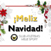 ¡Feliz Navidad de parte del Meliz Sport Club!