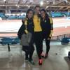 Miriam Oosterkamp y Lidia Fariñas consiguen la mínima para el Campeonato de España de Pista Cubierta en 200 metros lisos