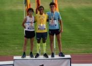 Forsedo Tabernero Campeón de España sub-16 en la prueba de 3.000 metros.