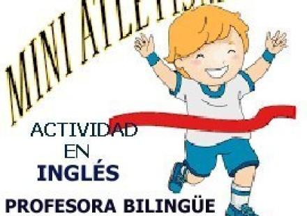 MINIATLETISMO, PARA NIÑ@S DE 3 A 5 AÑOS, EN INGLÉS POR PROFESORA BILINGÜE.